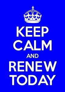 renew today