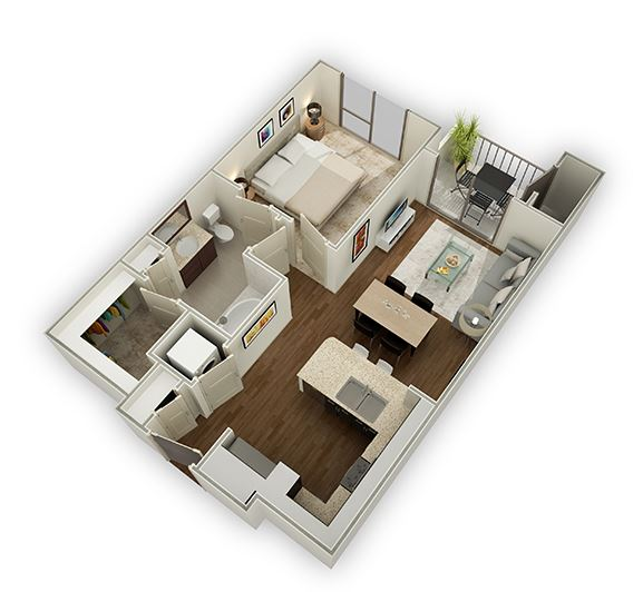 one bedroom apartments in The Energy Corridor