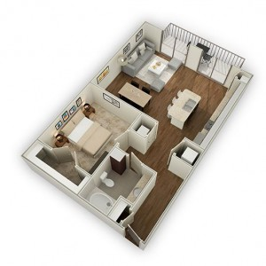 One bedroom apartments for rent in Houstons Energy Corridor