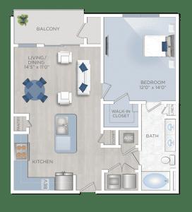 One Bedroom Apartment in Houston