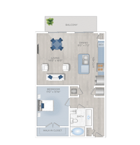One Bedroom Apartment in Houston Energy Corridor